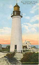 Pre- 1905 photo of the historic Port Isabel Lighthouse.