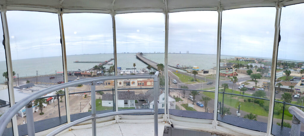 View from top of Port Isabel Lighthouse